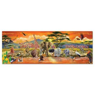 Melissa & Doug Safari Floor Puzzle - 100 Pieces