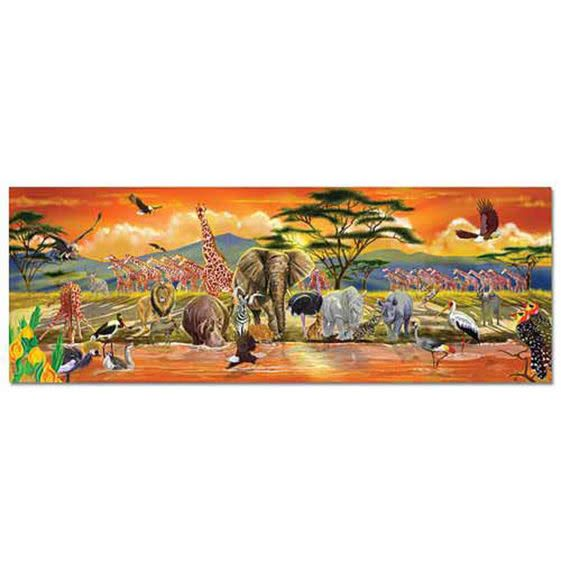 Melissa doug safari floor puzzle 100 pieces for 100 piece floor puzzles
