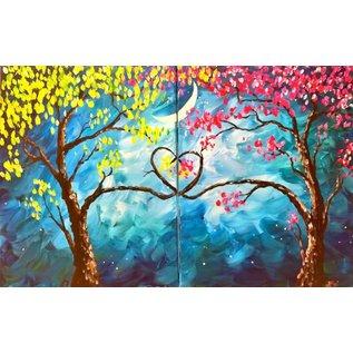 Feb 13 Couples Paint Class