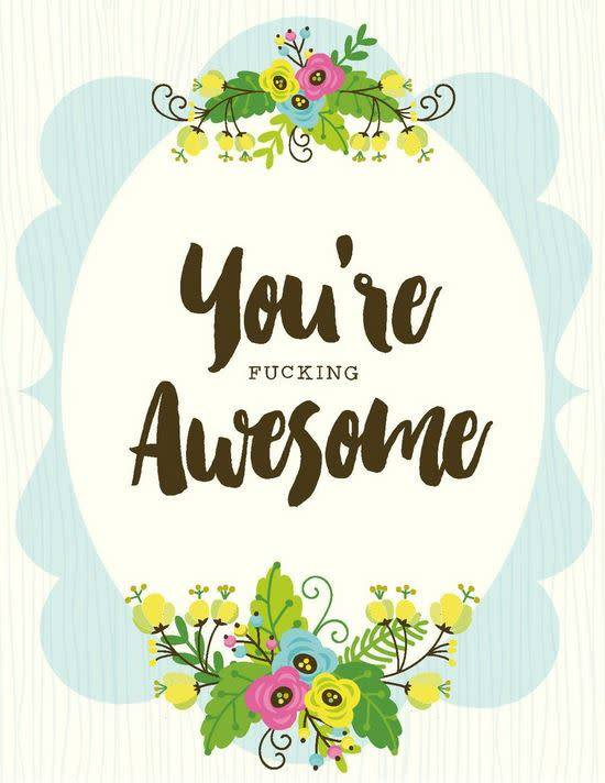 Yellow bird paper greetings youre awesome card enchantedforest yellow bird paper greetings youre awesome card m4hsunfo Gallery