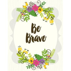 Yellow Bird Paper Greetings Be Brave Greeting Card