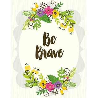 Yellow Bird Paper Greetings Be Brave Card