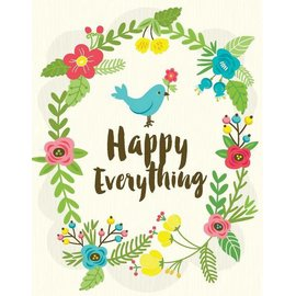 Yellow Bird Paper Greetings Happy Everything Card