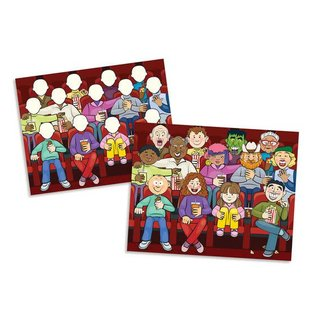 Melissa & Doug Reusable Sticker Pad - Face It!
