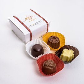 Peace by Chocolate Peace by Chocolate- Assorted 4 Pieces