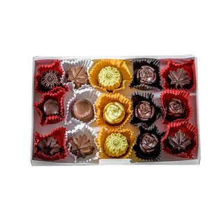 Peace by Chocolate Peace by Chocolate- Assorted 15 Pieces