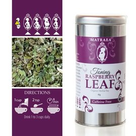 Matraea Toning Raspberry Leaf Tea 35g  (Certified Organic)