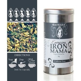 Matraea Energizing Iron Mama Tea 35g   (Certified Organic)