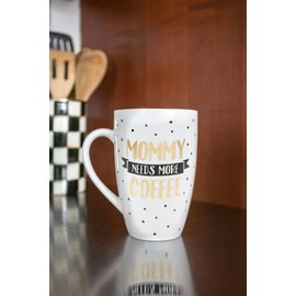 Pearhead Mommy Needs More Coffee Mug