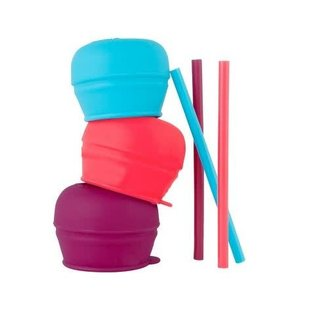 Boon Boon SNUG STRAW 3-Pack