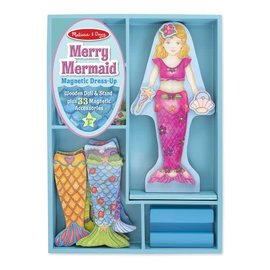 Melissa & Doug Merry Mermaid Magnetic Dress-Up