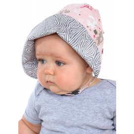 Snug as a Bug Woodland Critters Bonnet