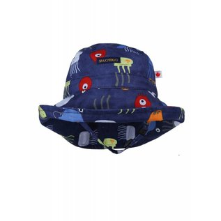 Snug as a Bug PB & Jelly Fish Adjustable Sun Hat
