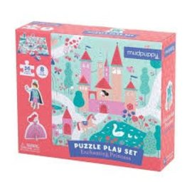Mudpuppy Enchanted Princess Puzzle Play Set