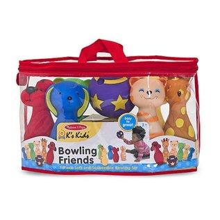 Melissa & Doug Bowling Friends Preschool Playset