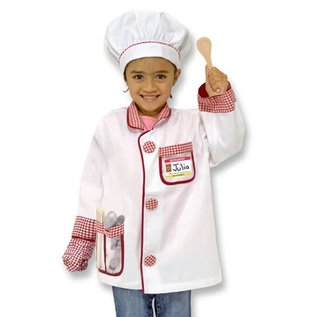 Melissa & Doug Chef Worker Role Play Costume Set