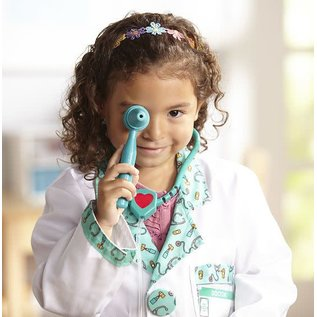 Melissa & Doug Doctor Worker Role Play Costume Set