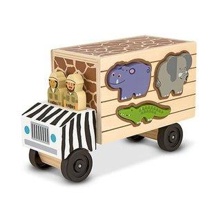Melissa & Doug Animal Rescue Wooden Play Set
