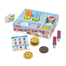 Melissa & Doug Frozen Treats Set Play Food