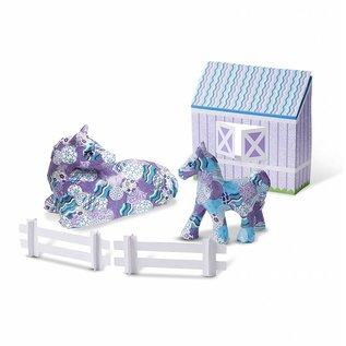 Melissa & Doug Decoupage Made Easy Craft Set - Horse & Pony