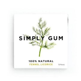 Simply Gum Simply Gum Fennel Natural Chewing Gum