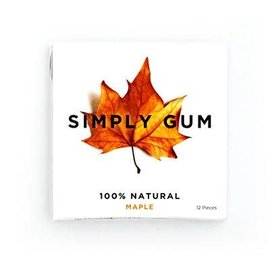 Simply Gum Simply Gum Maple Natural Chewing Gum