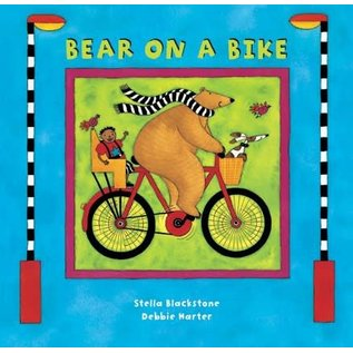 Barefoot Books Bear on a Bike