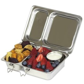 Planetbox PlanetBox Shuttle Stainless Steel Lunchbox
