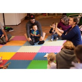 Beth Terry Mini Musicians Movers & Shakers- Tuesdays 10:00am, Fall 2018