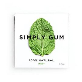 Simply Gum Simply Gum Mint Natural Chewing Gum
