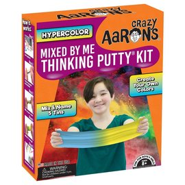 Crazy Aaron's Thinking Putty Mixed by Me Thinking Putty Kit Hypercolor