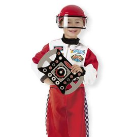 Melissa & Doug Race Car Driver Role Play Costume Set