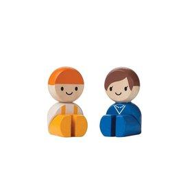 PlanToys Plan Toys Tradeswoman & Tradesman