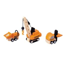 PlanToys Plan Toys Construction Vehicles