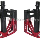 Crankbrothers Crank Brothers 5050 3 Red & Black Platform Pedals