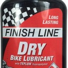 Finish Line Finish Line Dry Bike Lube Teflon Chain Bottle Size 4 oz