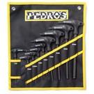 Pedro's Pedro's Pro TL 9-Piece Metric Hex Wrench Set