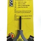 Pedro's Pedro's Torx Y Wrench T10, T25, T30 Sizes Gray