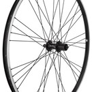 Mach 1 EXE 700c REAR Hybrid Bike Wheel Black w/ Shimano Cassette Hub