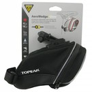 Topeak iGlow Aero Wedge TIG-AW01 Bike Seat Bag w/Fixer QR Pack Black Light