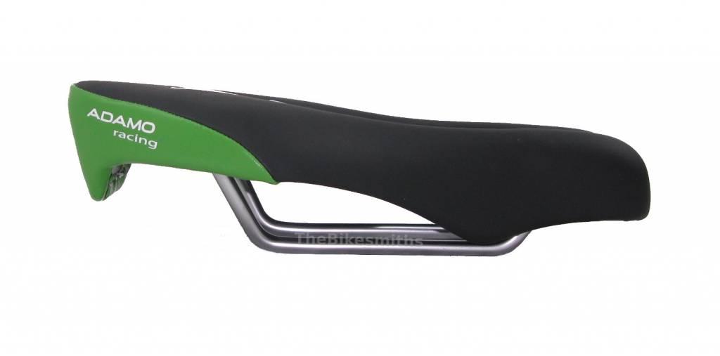 Ism Adamo Racing Ii 2 Road Ergo Saddle Black Green Bike Gel Split