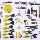 Pedro's Pedros Apprentice Bench Tool Kit Set 55 Piece