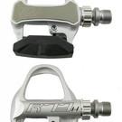 VP Components VP-R73H Silver Clipless Road Bike Carbon Fiber Pedals