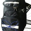 Bikase Pannier / Backpack Combo 1500ci Laptop Storage Bike Bag