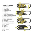 Nebo Tools Nebo Multi-tool Fixr-20 tools in one
