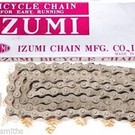 Izumi Easy Running Single Speed Chain 1/8 Silver/Silver