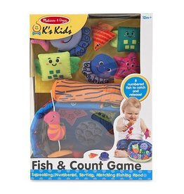 Melissa and Doug Melissa and Doug Ks Kids Fish and Count Learning Game