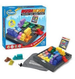 ThinkFun Thinkfun Rush Hour Traffic Jam Logic Game 20th Anniversary