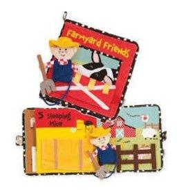 Manhattan Toy Manhattan Toy Farmyard Friends Soft Activity Book