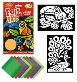 Peaceable Kingdom Peaceable Kingdom Foil Art Birds Sticker Craft Pack